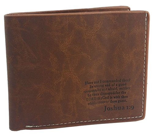 Christian Scripture Leather Bi fold Wallet product image