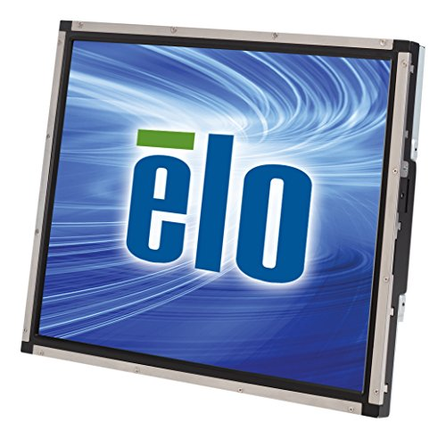 "Elo Touch E945445 Open Frame Monitor, 1939L, Accutouch, Rear-Mount, 19"" LCD, Steel/Black"