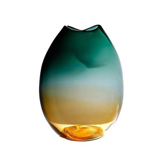 Rodciy Soplado Vasos de Vidrio de Mesa Centros de Mesa en la Boda ...