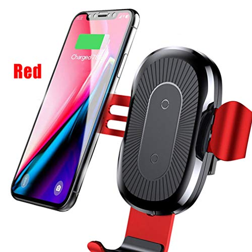 Colorcasa 2019 Automatic Clamping Wireless Car Charger Mount Holder