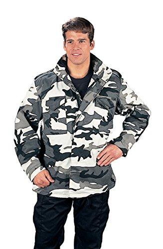 (Rothco M-65 Field Jacket - City Camo, Large)