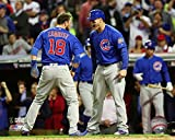 Chicago Cubs - 2016 World Series Champions! Ben Zobrist & Anthony Rizzo! 8x10 Photo Picture