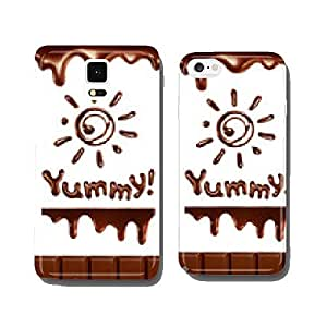 Set of chocolate drops, vector illustration cell phone cover case iPhone6 Plus