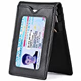 Kinzd Wallet for Men - RFID Blocking Bifold Slim Minimalist Front Pocket Wallet