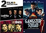 Gangs And Gang Busters 3 DVD Movie Collection: Goodfellas/ Departed/ Gangster Squad 3 Movie Bundle