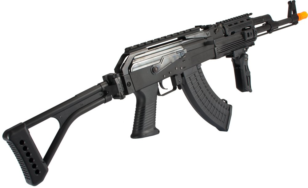Amazon com : Evike - G&P Contractor AK47 Airsoft AEG Rifle with