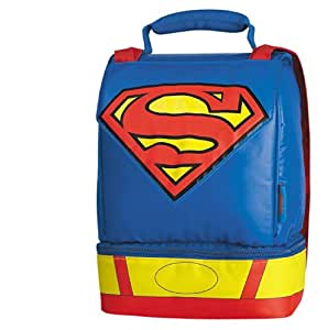 Thermos Dual Compartment Kit, Superman with Cape