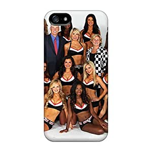 Iphone High Quality Tpu Case/ Atlanta Falcons Cheerleaders SUuBH4887WiBHn Case Cover For Iphone 5/5s