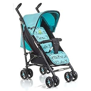 Carretilla plegable ligera del bebé del carro puede acostarse verano Ruedas duraderas plegables portátiles muy fáciles del recién nacido Sillas del carro ...