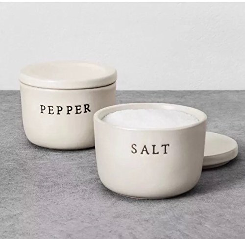 Hearth and Hand with Magnolia Salt & Pepper Stoneware Cellar (Home Hearth And)