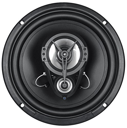 - Renegade RX830 8-Inch Full Range 3-Way Speakers - Set of 2 (Black)