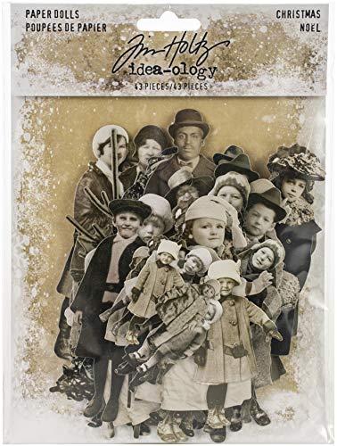 Idea-ology Paper Dolls Die-cuts 43/pkg-christmas