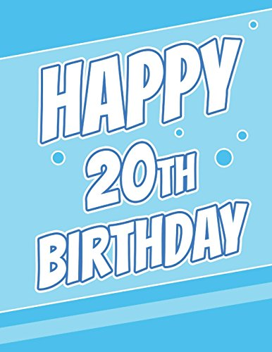 Happy 20th Birthday Discreet Internet Website Password Journal Gifts For 20 Year Old