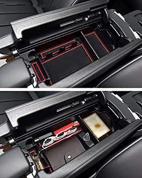 F/ür B enz GLA CLA Class A//B Aufbewahrungsbox Organizer Armlehne Mittelkonsole Handschuhfach Mit Rutschhemmender Matte Innen Auto Zubeh/ör