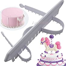 Fondant Cake Arc Ruler Decorating Graduated Scale Cake Baking Measure pastry art Tools swag Marker Dividing Set Garland sugarcraft gum paste sugar candy decor