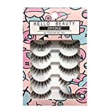 HELLO BEAUTY Multipack Demi Wispies Fake Eyelashes