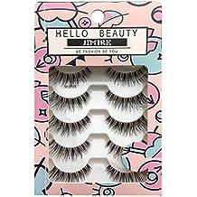 HELLO BEAUTY Multipack Demi Wispies Fake Eyelashes (5Pack)