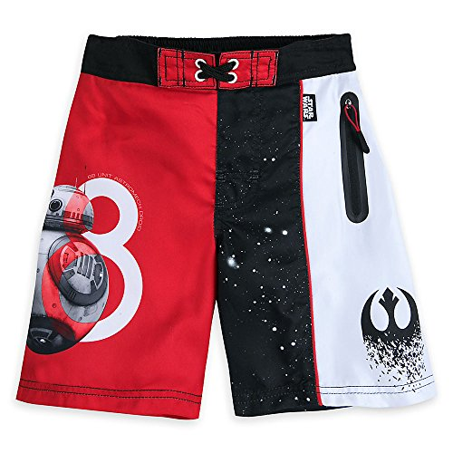 Star Wars: The Last Jedi Swim Trunks for Boys Size 4