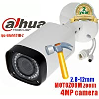 Dahua IPC-HFW4431R-Z 2.7~12mm Motorized Varifocal Lens 4MP WDR Bullet Network Security Camera POE IP67 Weatherproof CCTV IP Camera International Version