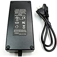 WS-PS-56v120w 56 volt 120 watt 2.2 amp power supply for PoE injectors with 2.1mm x 5.5mm DC connector. UL, FCC approvals