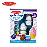 Melissa & Doug 92146 Created by Me! Sweet Treats Resin Trinket Boxes Craft Kit, Multicolor