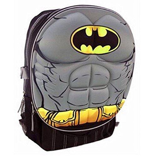 DC Comics 0128083, Jungen Kinderrucksack grau M