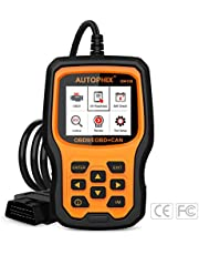 Code Reader Car Diagnostic Tool, AUTOPHIX OBD2 Scanner Engine Analyzer for Vehicle Check Engine Light with Auto Scanner Battery Voltage Test