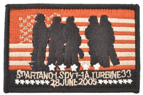 Die Marine Krieg sdvt-1. Navy Seals afganistaen Memorial Emblem Patch Truppen mit Velcro Haken und Verschlüsse Schleife