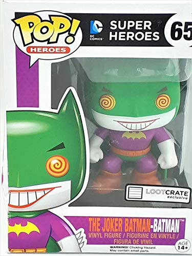DC Comics Funko Pop! DC Joker Batman Figura de accion