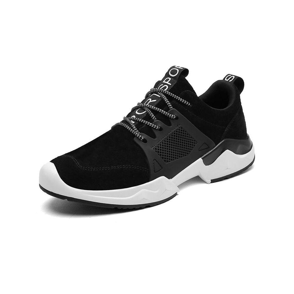 CJC Schuhe Unisex Jungen Herren Trainer  Atmungsaktiv Turnschuhe Weich Klettern Wandern Schuhe Sport (Farbe   schwarz, Größe   EU39 UK6.5)