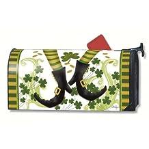 MailWraps Irish Jig Mailbox Cover #02013