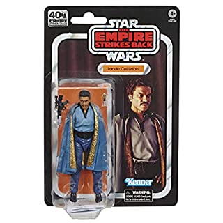 Star Wars The Black Series Lando Calrissian 6-Inch-Scale The Empire Strikes Back 40TH Anniversary Collectible Action Figure