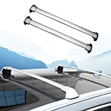 2 PC Silver Cross Bar for Honda CRV CR-V 2017 2018 Luggage Baggage Roof Rail Rack