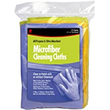 Buffalo Industries (65003) 12-Inch X 16-Inch Microfiber Cleaning Cloths, (Pack of 12)