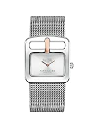Coach Ladies Duffel Buckle Analog Dress Quartz Watch (Imported) 14502318