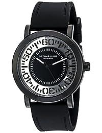 Stuhrling Original Women's 830.03 Symphony Analog Display Quartz Black Watch