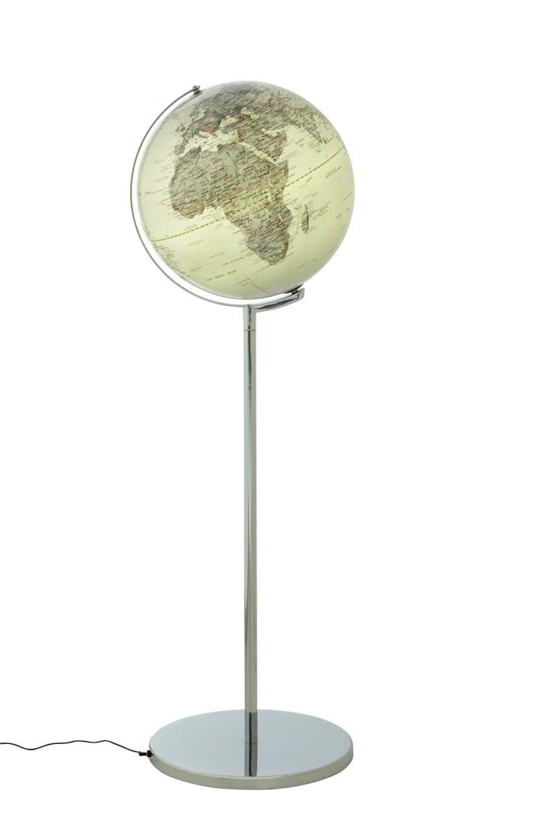 Emform Standglobus Sojus Silver, Metall & Kunststoff, 430 x 1320 mm, Beleuchtet
