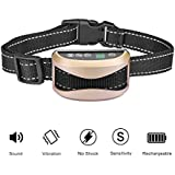 AshlynGrey Anti Bark Collar Dog Shock rechargeable waterproof (Anti Bark Collar No Barking Training Electric Shock Vibration Remote Pet Dog Training Collar Belt With 7 Levels Shock)