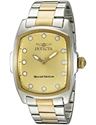 Invicta Mens Lupah Swiss Quartz Stainless Steel Casual Watch (Model: 15853)