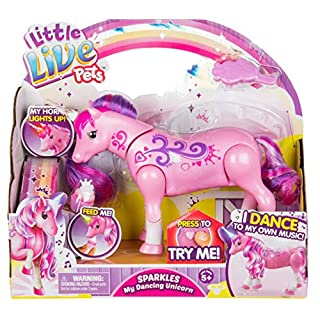 Little Live Pets - Stardust My Dancing Interactive Unicorn   Dances & Lights to Music - Engaging Fun - Batteries Included   For Ages 5+ (28683)