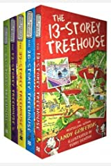 Treehouse Books Collection Andy Griffiths 5 Books Set (The 65-Storey, The 52-Storey, The 39-Storey, The 13-Storey, The 26-Storey) Paperback