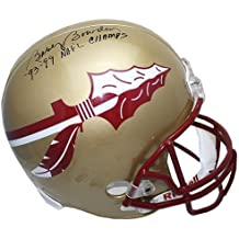 Bobby Bowden Autographed Signed Florida State Seminoles Gold Replica Helmet with 93