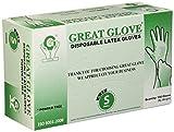 GREAT GLOVE Latex Powder-Free 4.5-5 mil General