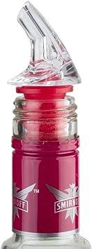 6 Liquor Bottle BIG CORK SCREENED POUR SPOUTS Pourer FITS Patron w// Dust Caps