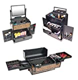 SHANY REBEL Series Pro Makeup Artists Rolling Train