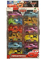 Ztoys Cars Superstar Racing Set 12 Pcds For Unisex, Multi Color