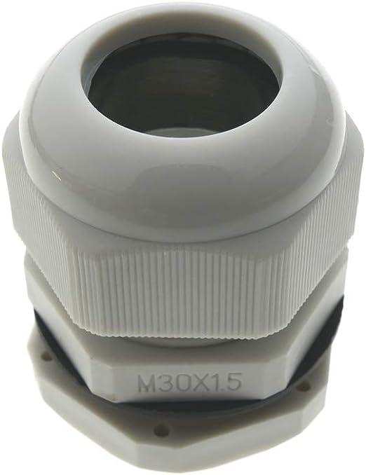 BeMatik - Prensaestopa de Poliamida M30x1.5: Amazon.es: Electrónica