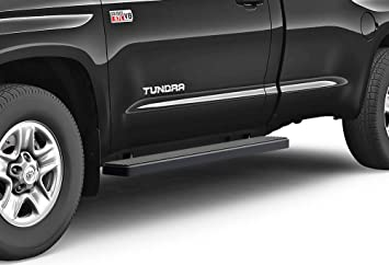 """FOR 07-18 TOYOTA TUNDRA 2DR CREW CAB LIGHT WEIGHT  5/""""ALUMINUM SIDE STEP NERF BAR"""