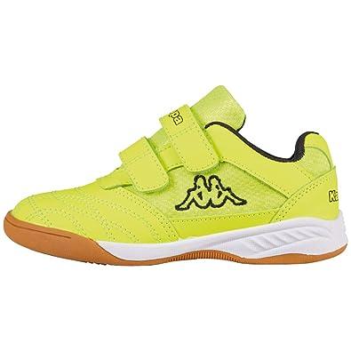 d8c9b718a Kappa Unisex Kids' Kickoff Multisport Indoor Shoes Yellow/Black 4011 3.5 UK