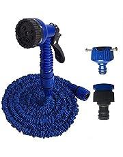خرطوم مياه قابل للتمدد 30 متر لون ازرق
